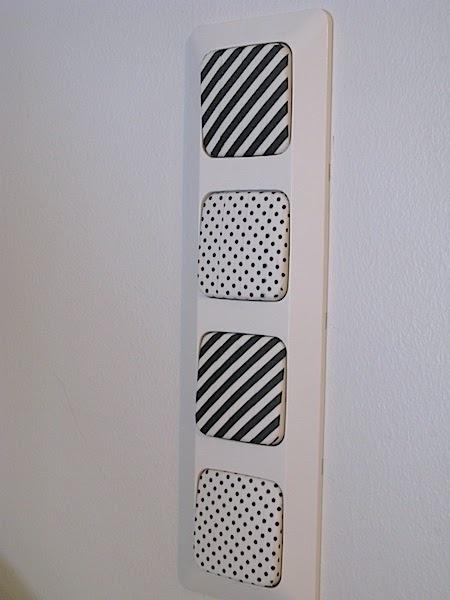 WASHI pásky - na vypinacoch