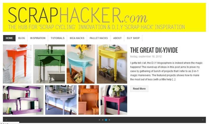 Pre vsetkych ktori miluju UROB SI SAM alebo DIY... Ja milujem tuto stranku  http://scraphacker.com/  !!! :-)) - Obrázok č. 1