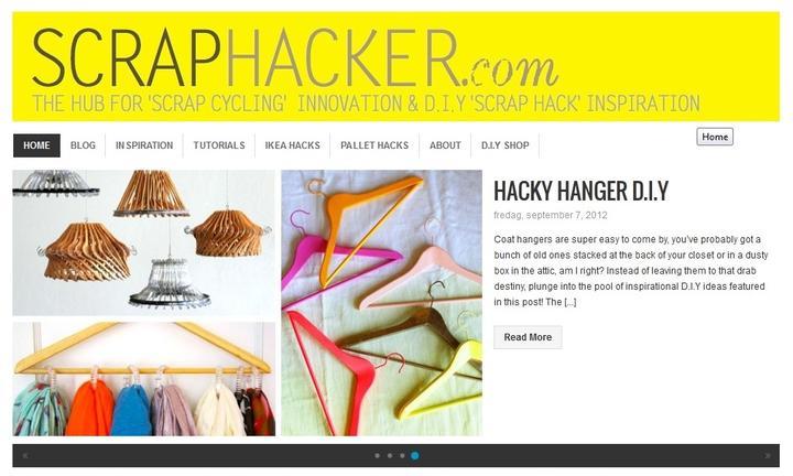 Pre vsetkych ktori miluju UROB SI SAM alebo DIY... Ja milujem tuto stranku  http://scraphacker.com/  !!! :-)) - Obrázok č. 2