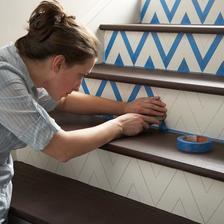 rychla zmea na schodch a bez malovania :-)