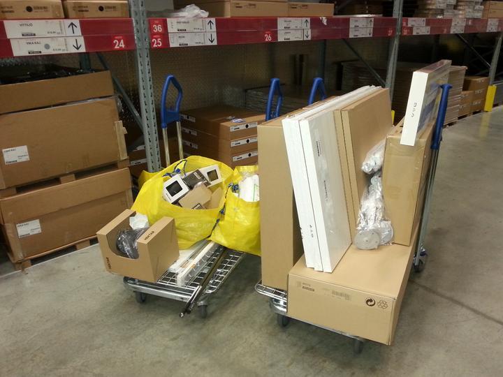 Takto sa nakupuje v Ikea ked mate doma Fiatik :-D - Obrázok č. 1