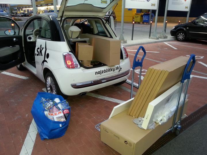Takto sa nakupuje v Ikea ked mate doma Fiatik :-D - Obrázok č. 3