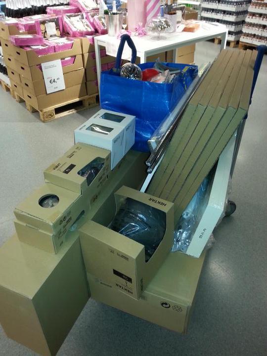 Takto sa nakupuje v Ikea ked mate doma Fiatik :-D - Obrázok č. 2