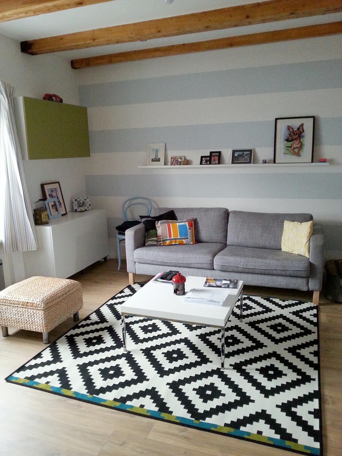 U nás - v malom dome :-) - nas novy koberec ;-)