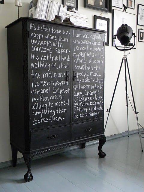 Blackboard-Chalkboard Tabuľová farba inšpi :-) - Obrázok č. 3