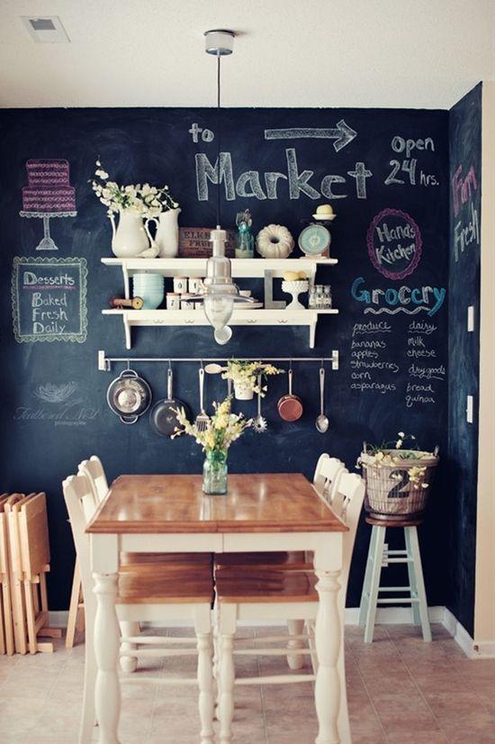 Blackboard-Chalkboard Tabuľová farba inšpi :-) - Obrázok č. 16