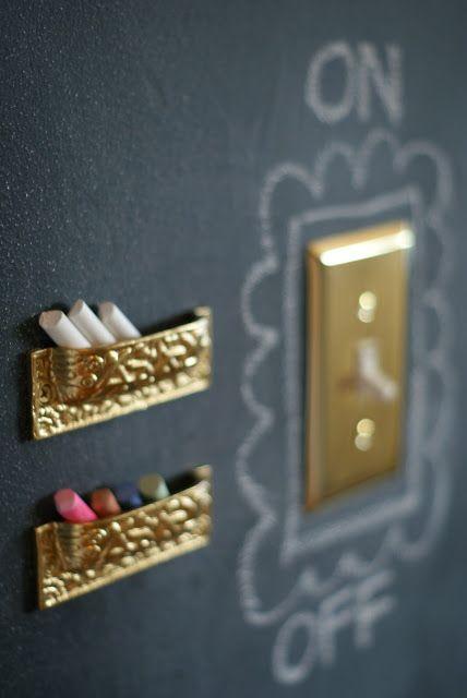Blackboard-Chalkboard Tabuľová farba inšpi :-) - Obrázok č. 32