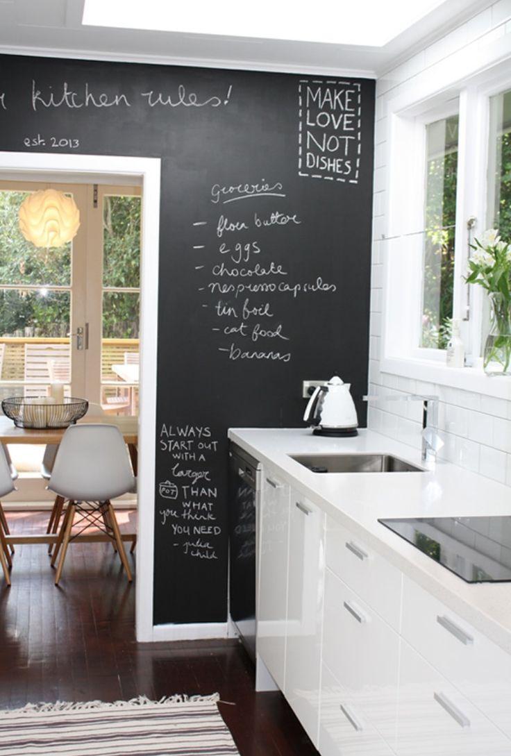 Blackboard-Chalkboard Tabuľová farba inšpi :-) - Obrázok č. 35