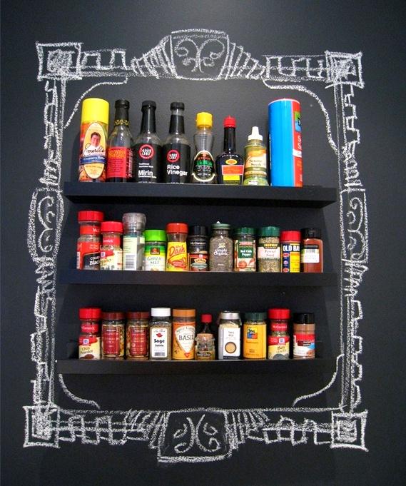 Blackboard-Chalkboard Tabuľová farba inšpi :-) - Obrázok č. 1
