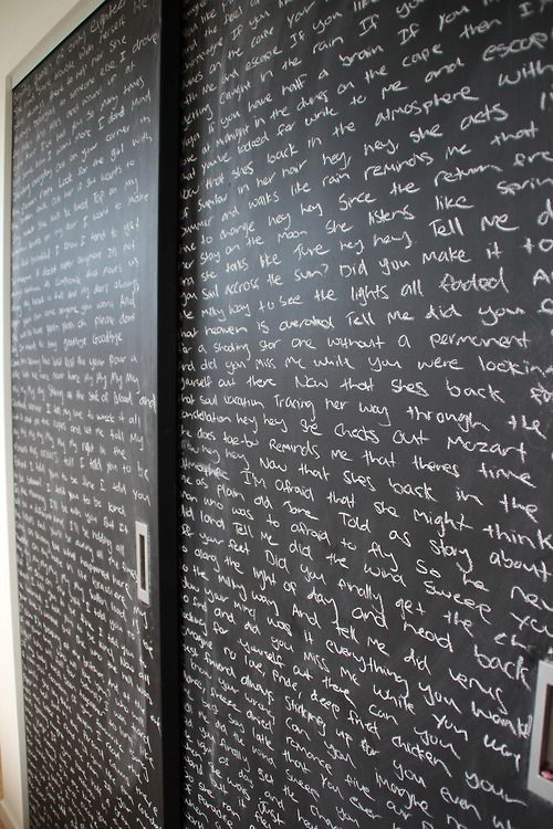Blackboard-Chalkboard Tabuľová farba inšpi :-) - Obrázok č. 65