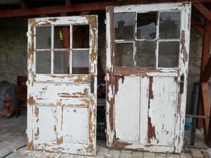 zvysne dvere pred prvym cistenim
