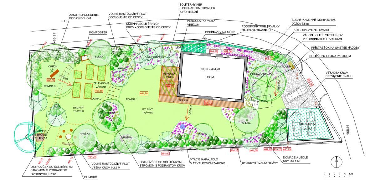 Záhrada v starom sade - Návrh našej prírodnej záhrady od KrajArch :)