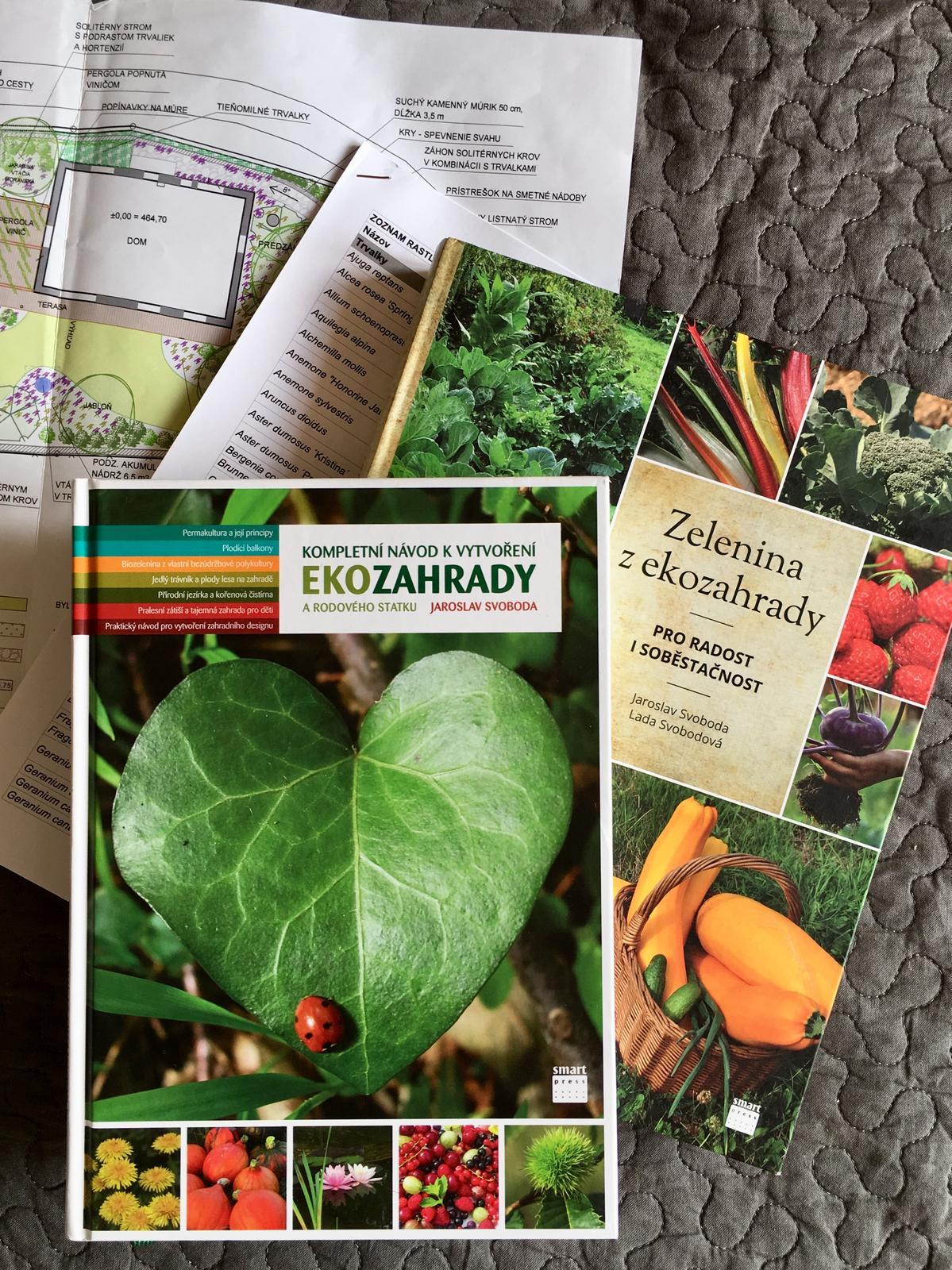 Záhrada v starom sade - Včera som si urobila radosť dvomi knihami o prírodnej záhrade. Po nociach môžem študovať :)