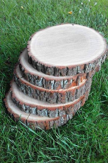 Dřevěné koláče/podnosy - Obrázek č. 1