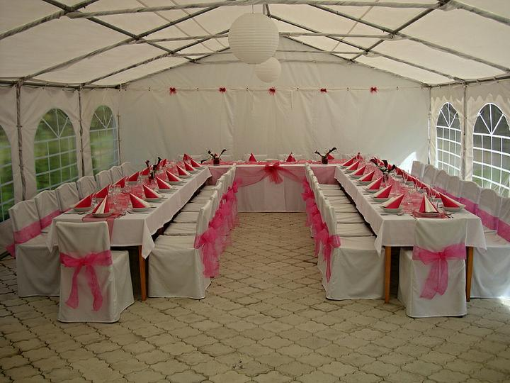 Venkovní svatební hostiny - Obrázek č. 1