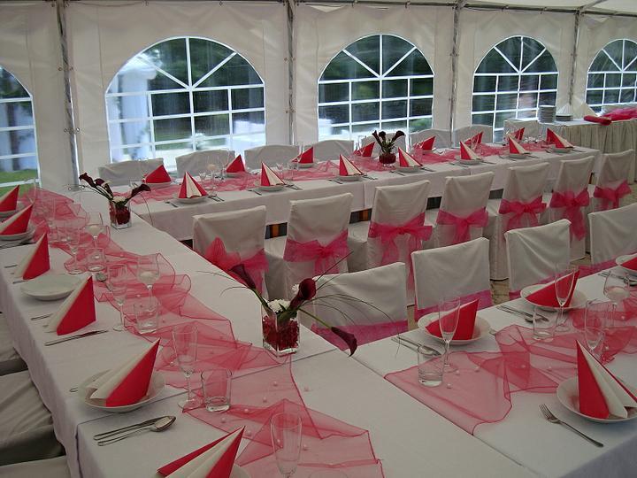 Venkovní svatební hostiny - Obrázek č. 3
