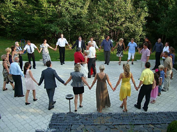 Venkovní svatební hostiny - Obrázek č. 13