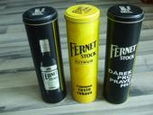 Plechové dózy na fernet 0,5 l,