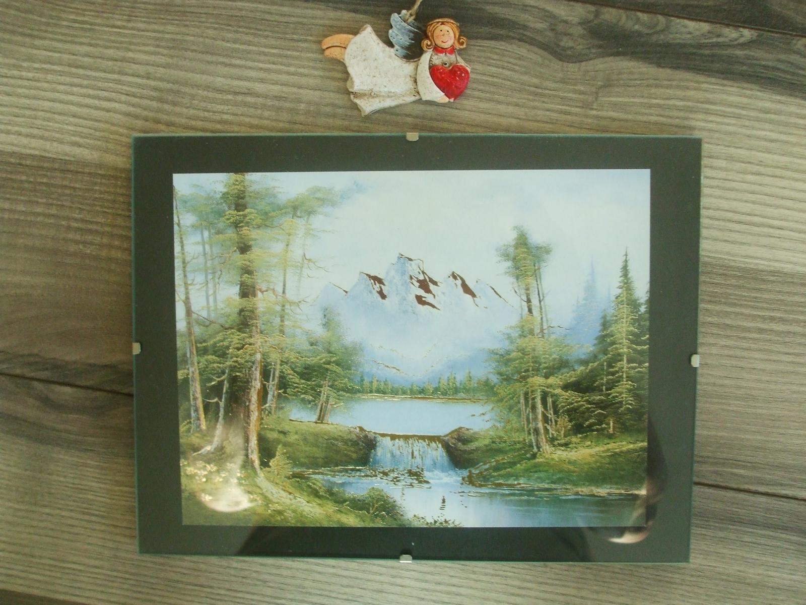 Obraz v skle 24 x 18 cm-top stav - Obrázok č. 1