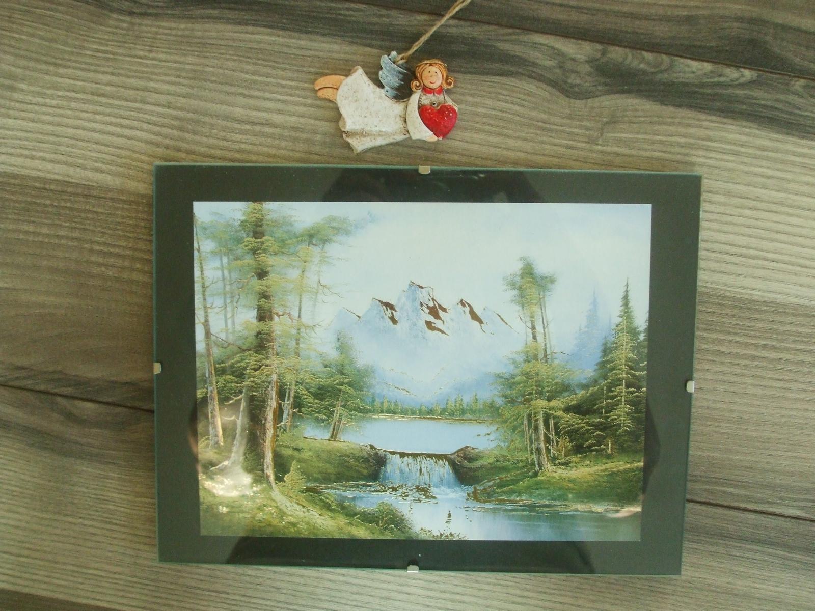 Obraz v skle 24 x 18 cm-top stav - Obrázok č. 4