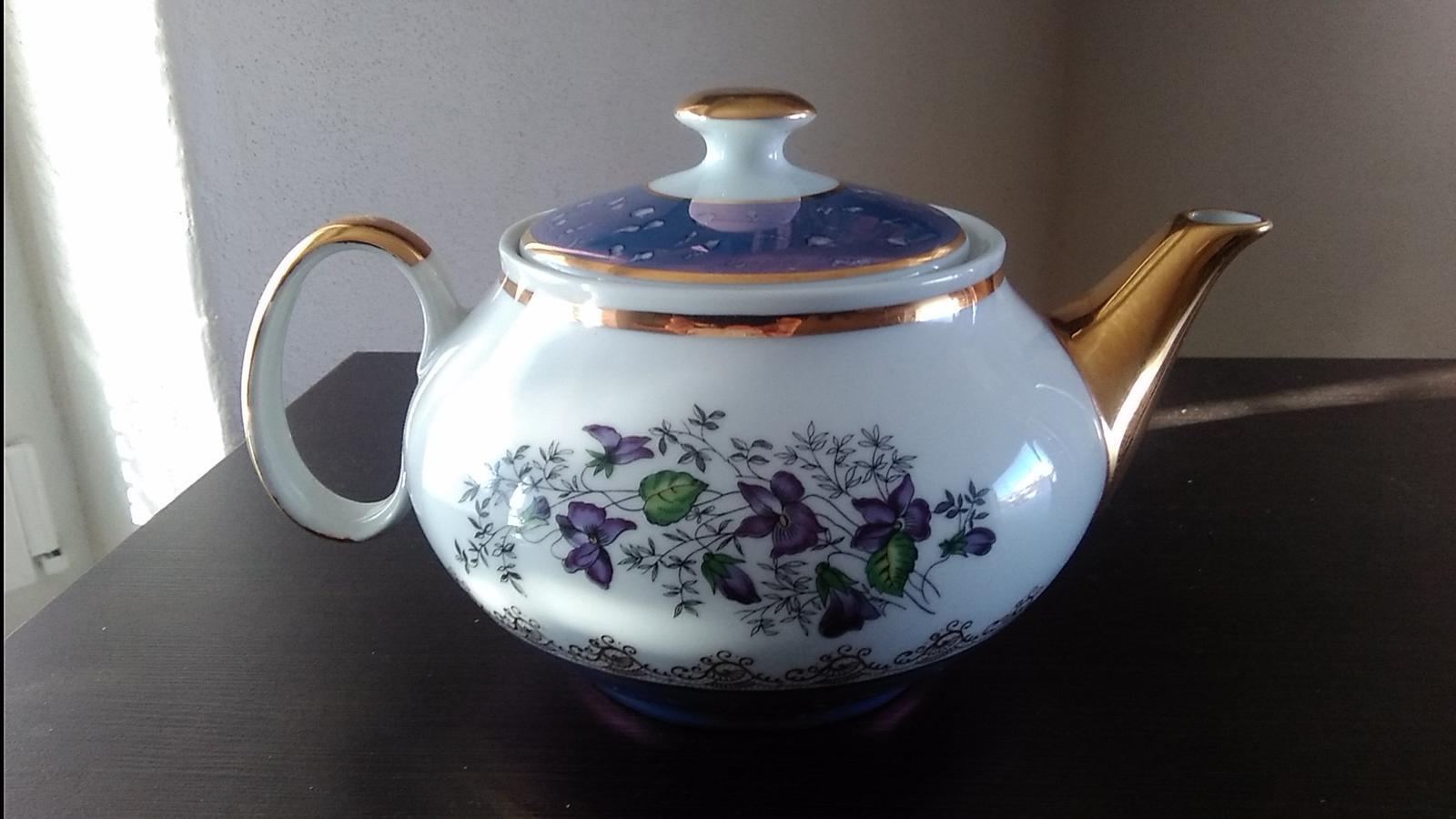 Nepoužívaný čajník - Obrázok č. 1