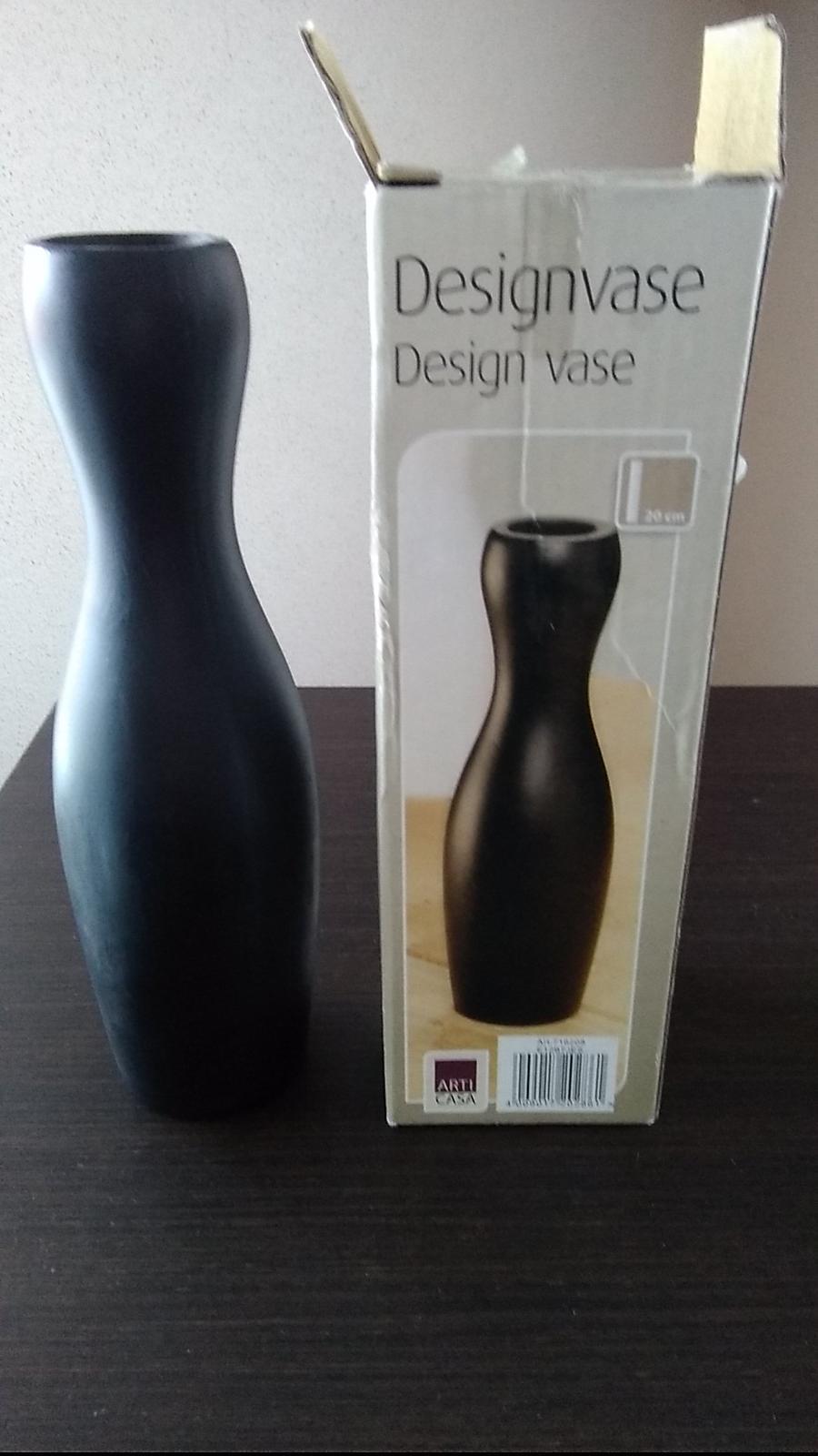 Dizajnová štýlová váza - Obrázok č. 1