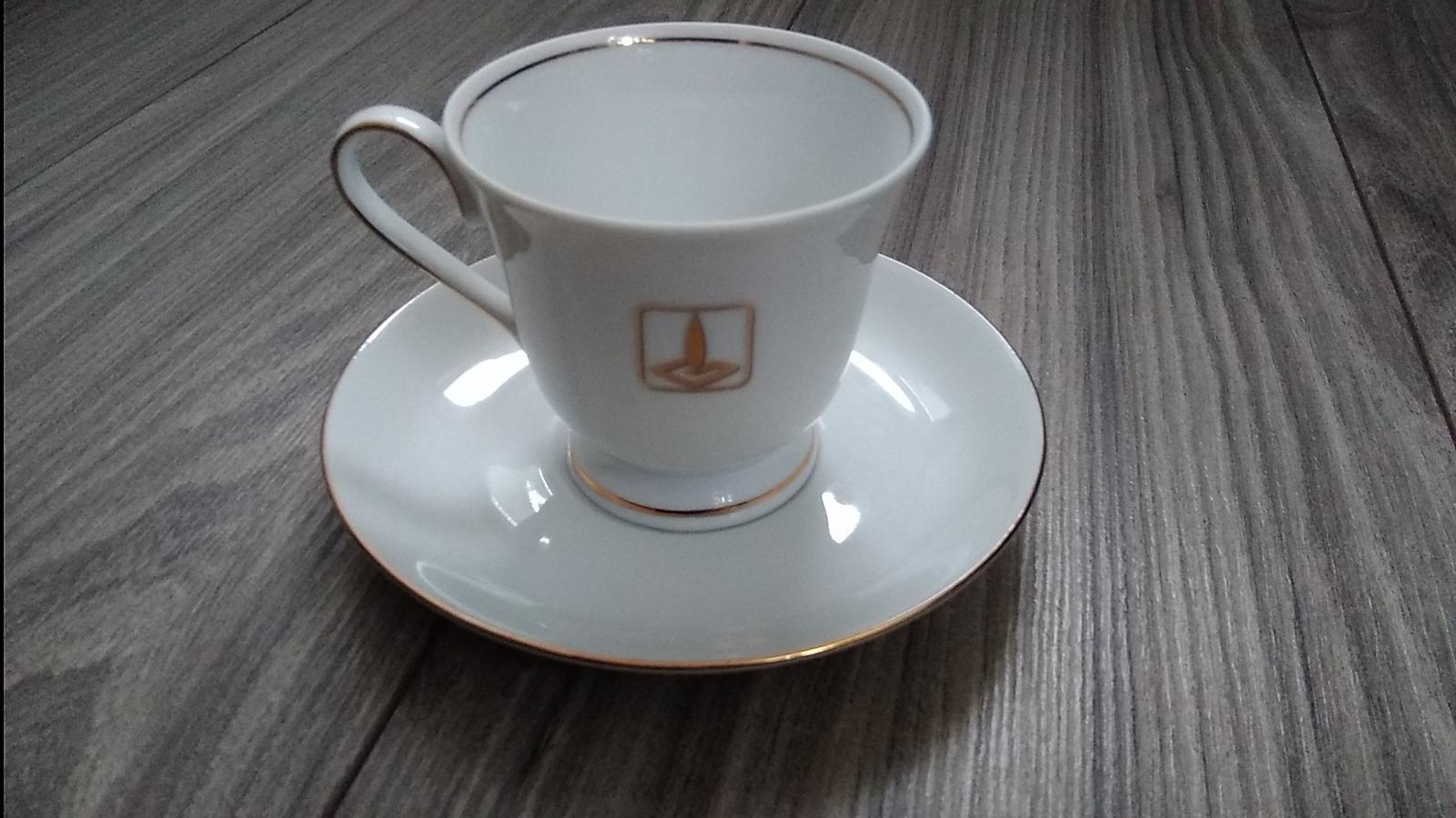 Nová elegantná šálka s tanierikom - Obrázok č. 1
