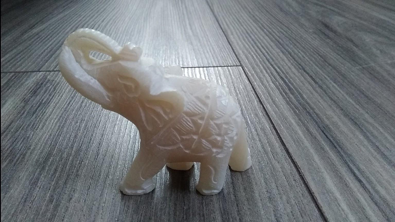Biely slon-dekorácia - Obrázok č. 3