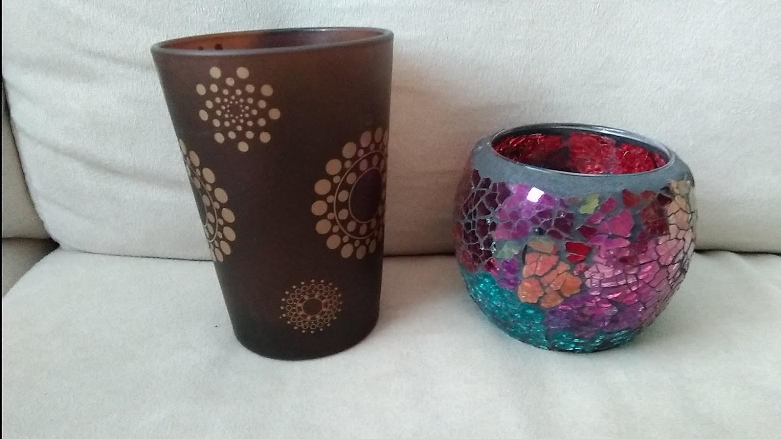 Sklenené svietniky na čajové sviečky - Obrázok č. 4