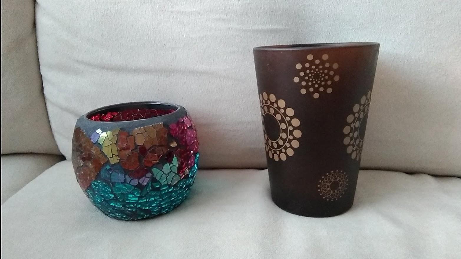 Sklenené svietniky na čajové sviečky - Obrázok č. 1