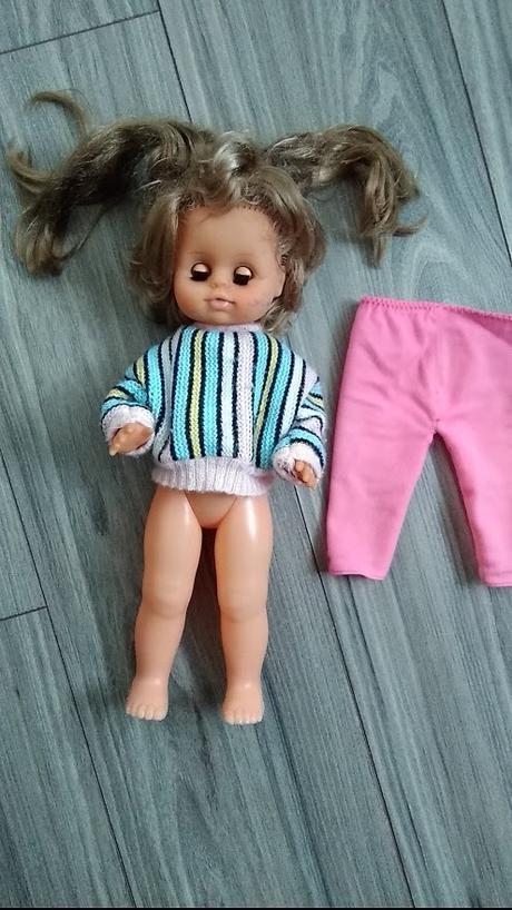 Retro 40 ročná bábika - Obrázok č. 3