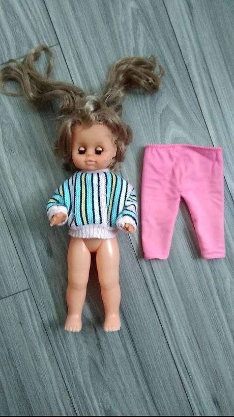Retro 40 ročná bábika - Obrázok č. 1