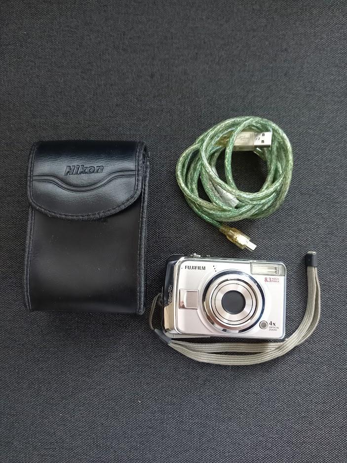 Fotoaparát s koženým obalom - Obrázok č. 1