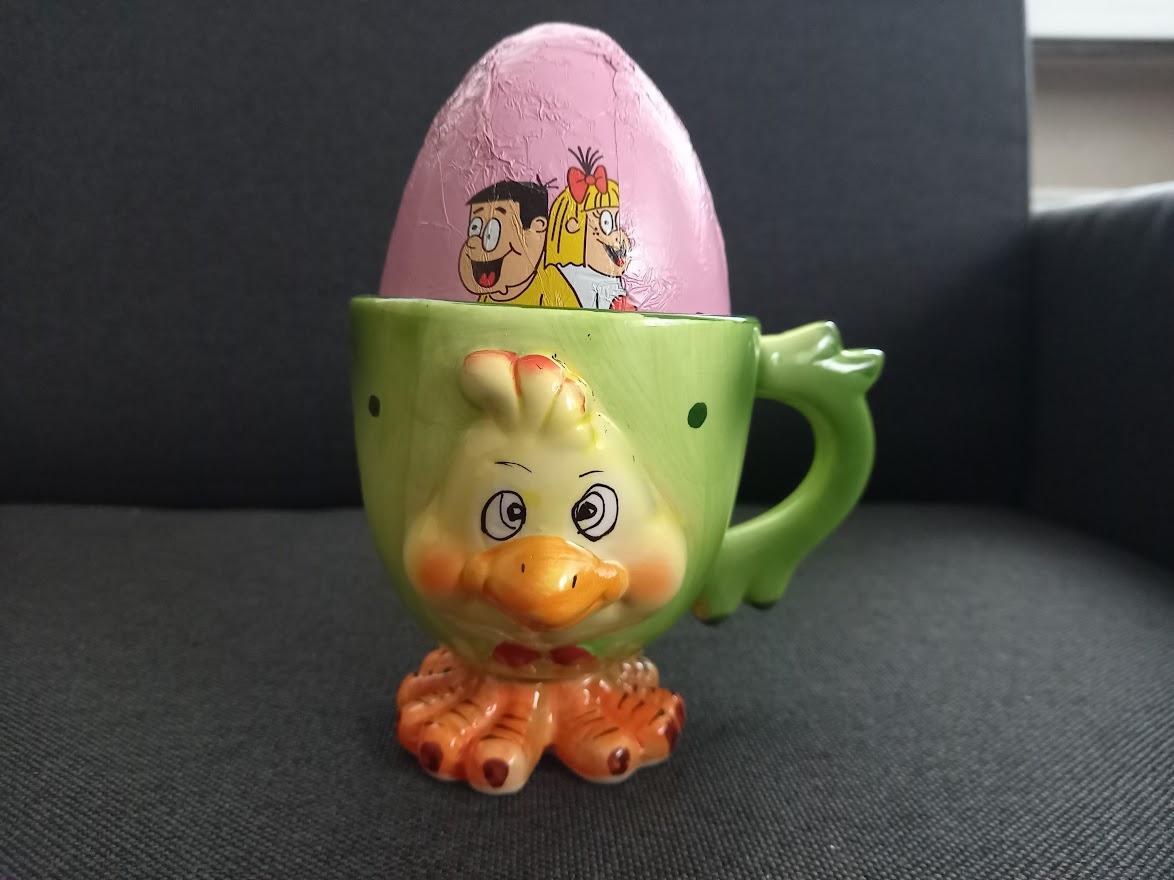 Pohár na veľkonočné vajíčko - Obrázok č. 1