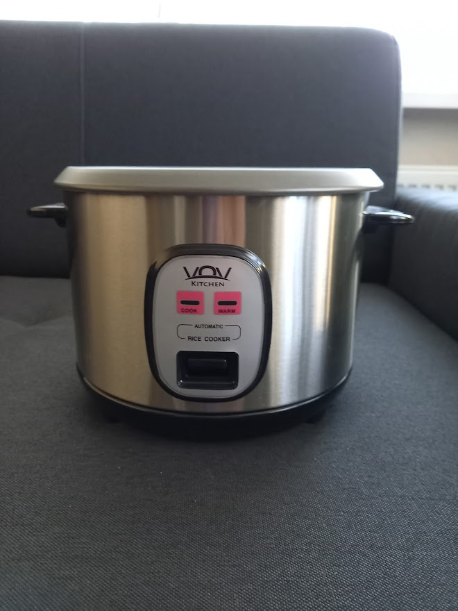 Automatický varič ryže nerezový-NOVÝ, ZABALENÝ - Obrázok č. 1
