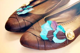 síce ako Pocahontas, no ľahká výroba a nosiť sa dajú aj po svadbe :)