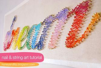 takéto niečo ma už dlho fascinuje... rozmýšľam, že niečo podobné urobím na svojej stene :)
