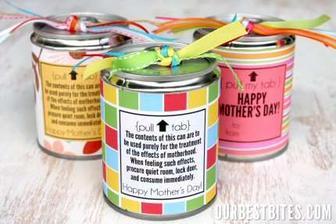 jednoduchý a sladký darček pre hostí :)