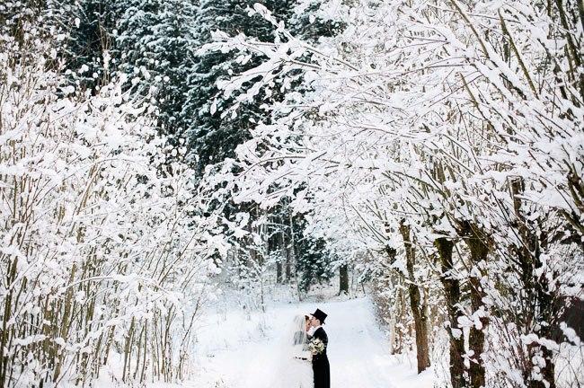Svadba podľa obdobia: zima :) - ta toto je dokonala fotka :)