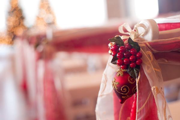 Svadba podľa obdobia: zima :) - v kostole by toto mohlo byt kludne aj na lavici... :) ...