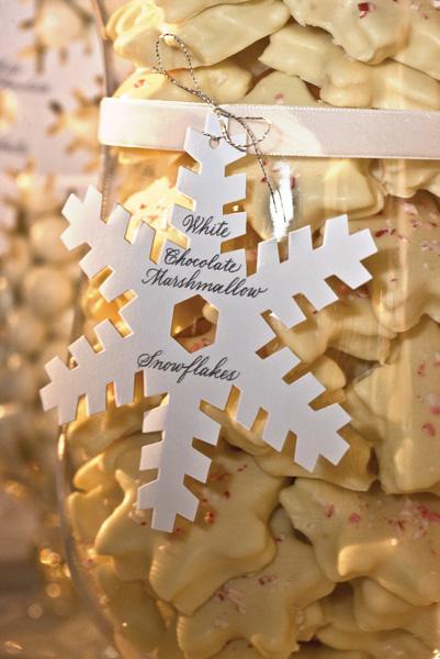 Svadba podľa obdobia: zima :) - etiketa na nadobu s pernikmi... :)