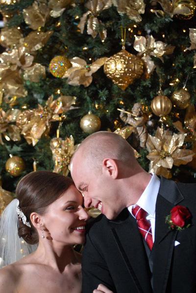 Svadba podľa obdobia: zima :) - vianocna svadba... :)