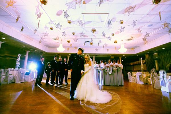 Svadba podľa obdobia: zima :) - tanec pod hviezdami... :)