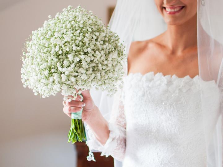 ❤️ Svadobné kytičky pre naše krásne nevestičky 2014 ♥ - Kytička z nevestinho závoja, krásna foto: Jana Bariliková