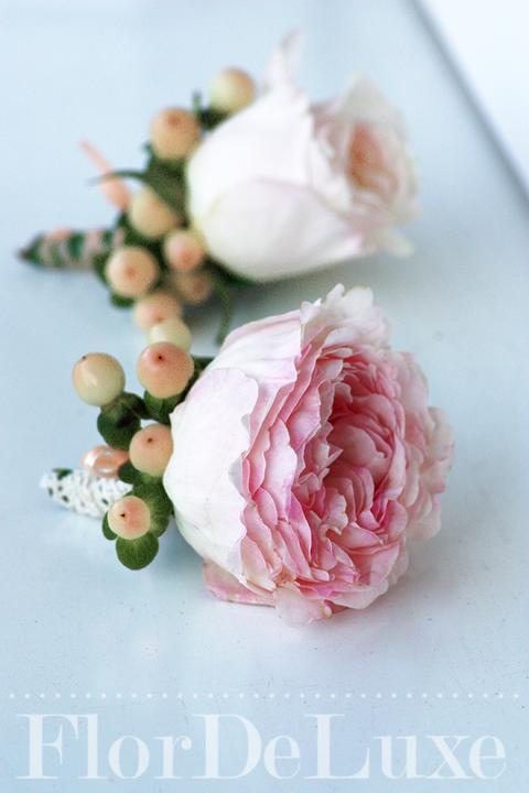 ❤️ Svadobné kytičky pre naše krásne nevestičky 2014 ♥ - Svadobné pierka z anglických ruží