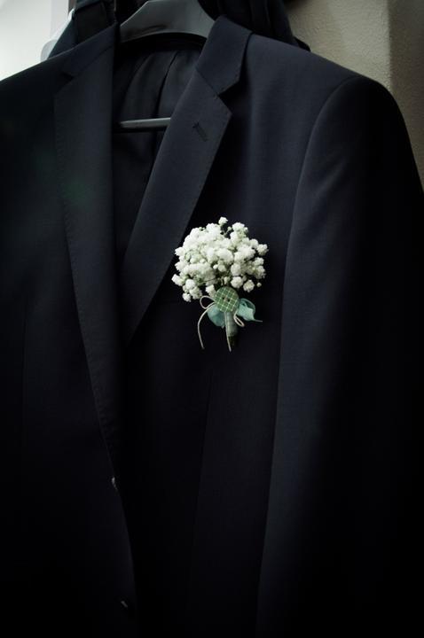 ❤️ Svadobné kytičky pre naše krásne nevestičky 2014 ♥ - Pierko pre ženícha, foto Jana Bariliková