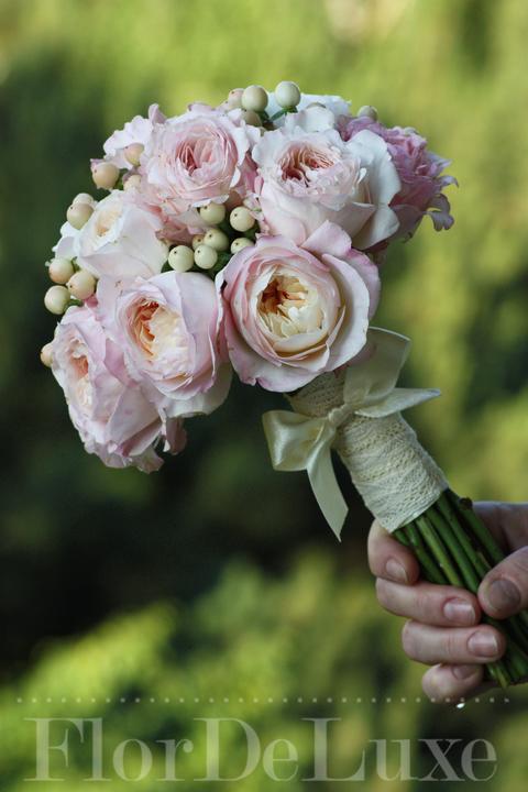 ❤️ Svadobné kytičky pre naše krásne nevestičky 2014 ♥ - Kytička z anglických ruží