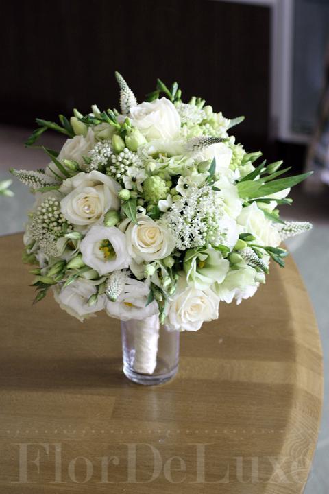 ❤️ Svadobné kytičky pre naše krásne nevestičky 2014 ♥ - Biela svadobná kytica
