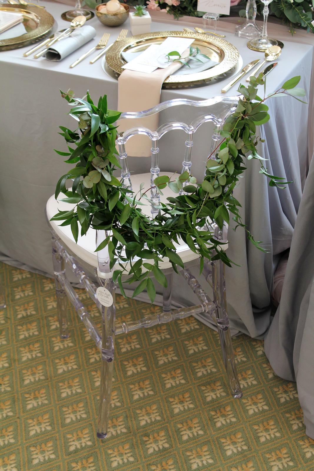 Naša svadobná výzdoba na svadobnom veľtrhu v Tatranskej Lomnici v grandhoteli Praha. - Obrázok č. 4