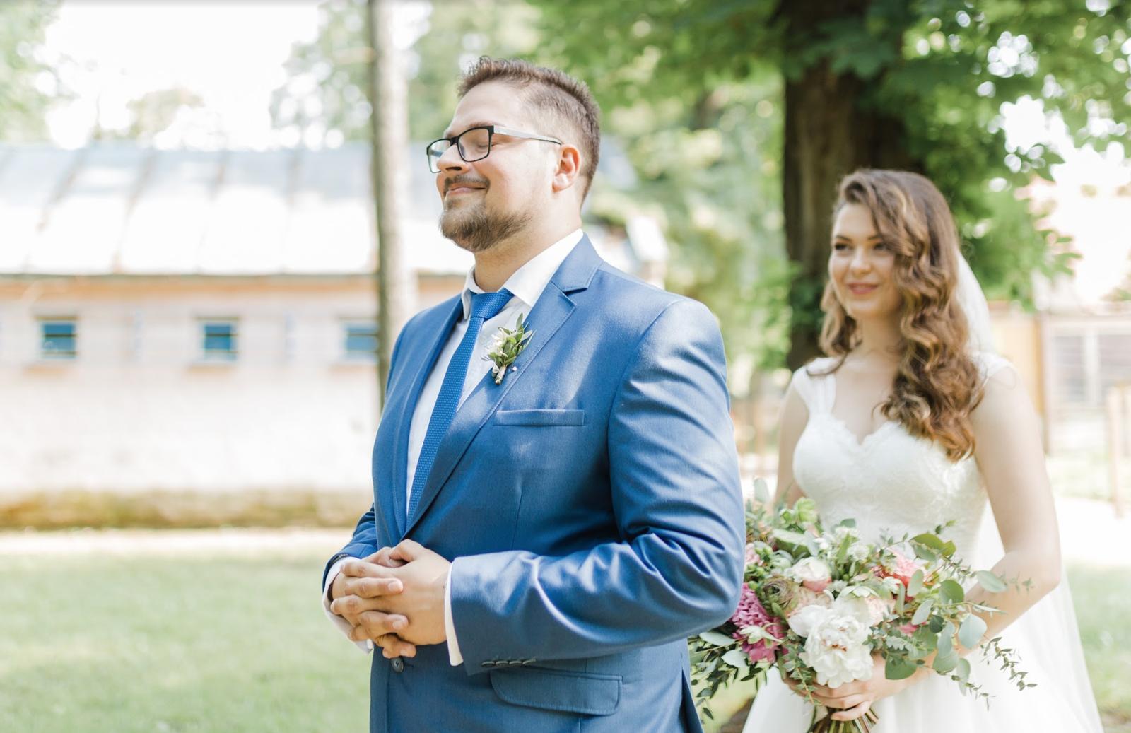 Nežná svadbička Lenky a Stana s množstvom skalných ruží. - Obrázok č. 1